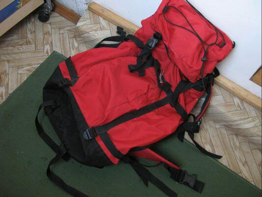 мягкий походный рюкзак
