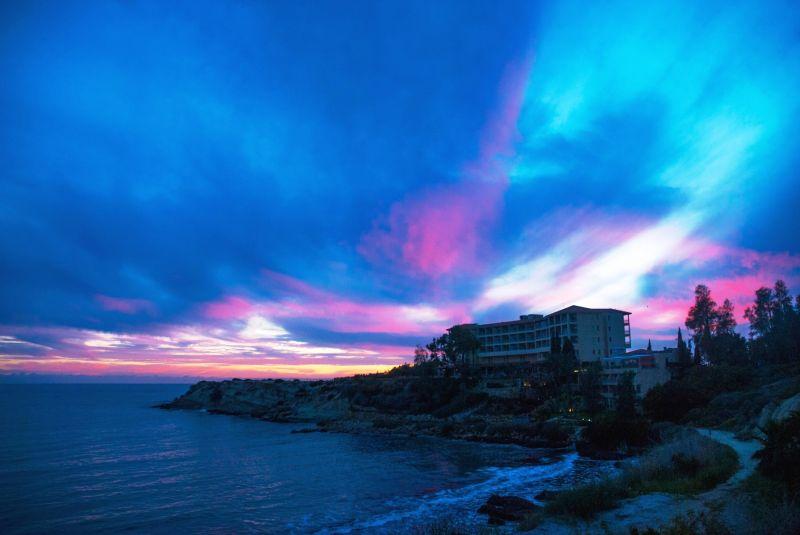 Очаровательный закат