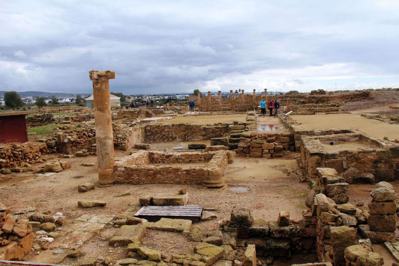 Руины города Пафос