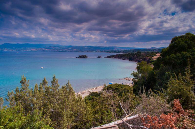 лазурное море Кипра