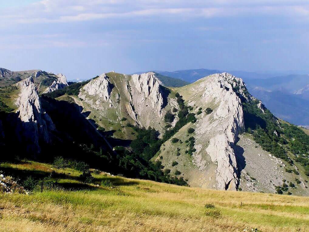 Горы восточного Крыма
