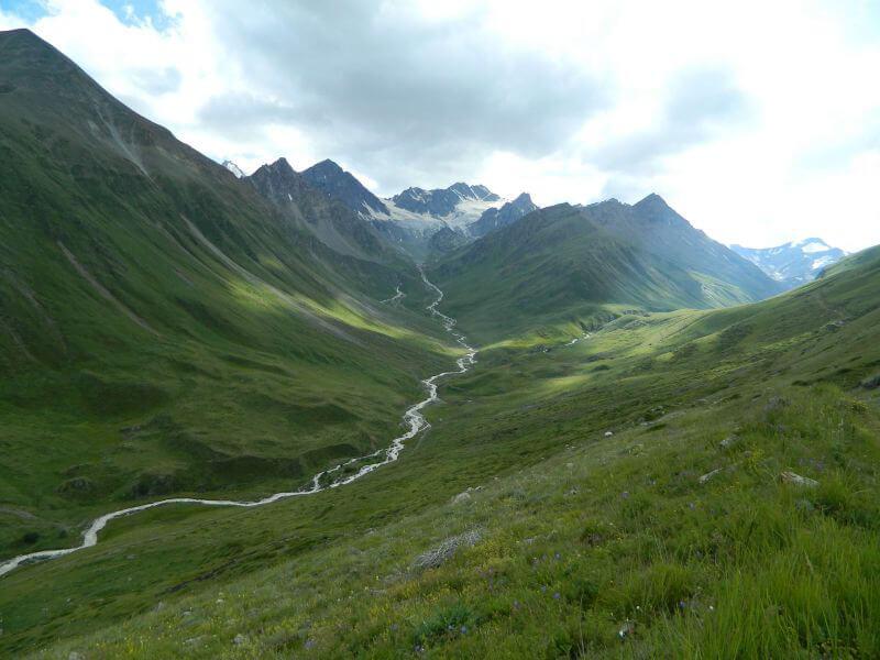 Долина реки Кыртык