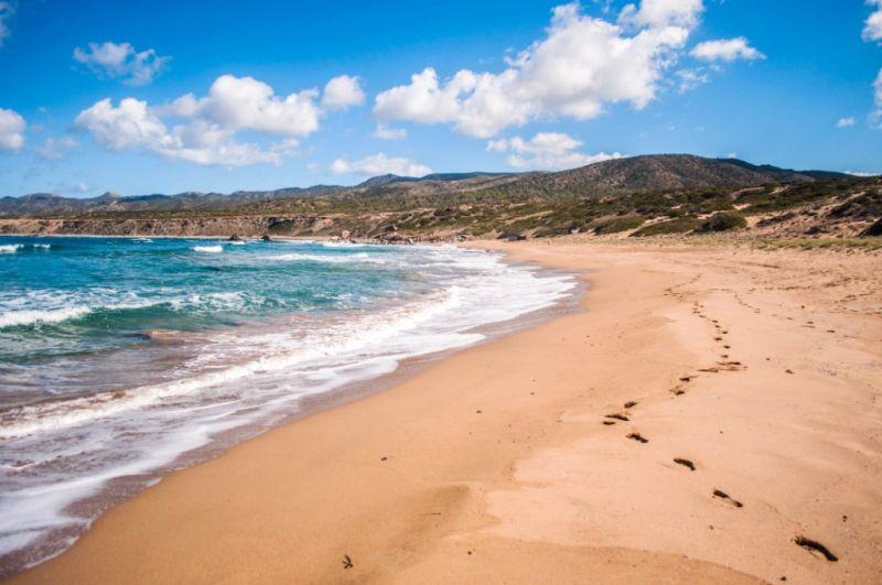 Поход по Кипру, пляж Лара