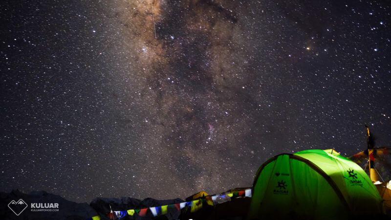 Млечный путь и моя палатка