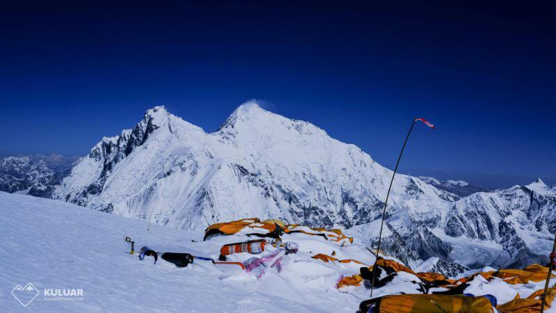 вид на Эверест с Л3