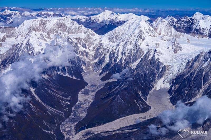 Вид с вершины Манаслу