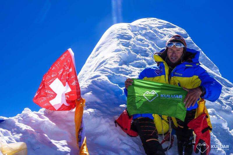 Вершина Манаслу, 8163м