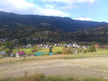 Карпатское село