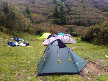 Лагерь на ночевку