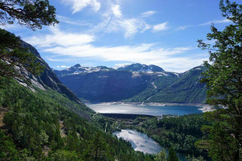 Виды на норвежские фьорды