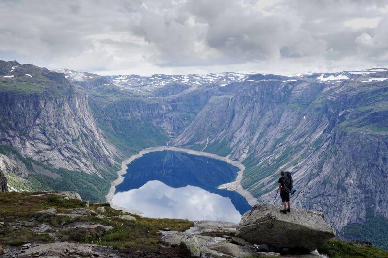 Последний взгляд на озеро Рингедалсватен