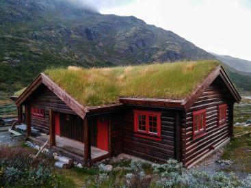 Традиционный норвежский домик
