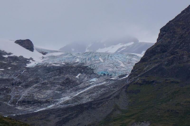 Ледник в нацпарке Йотунхеймен