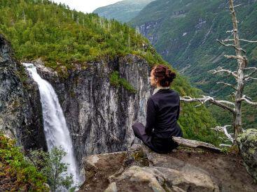 Веттисфоссен водопад