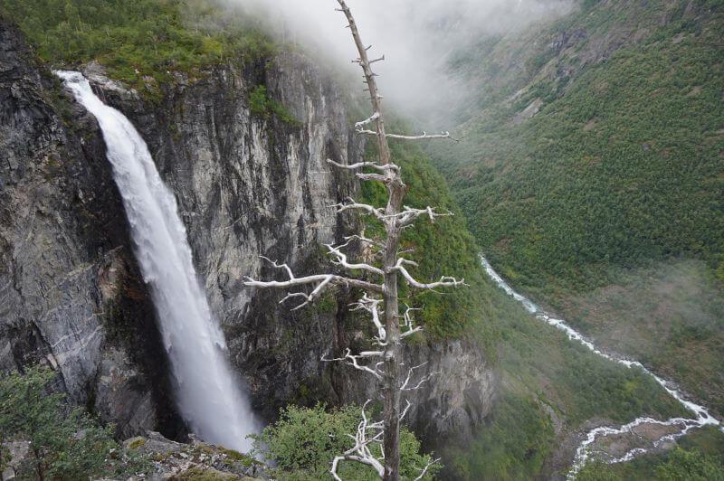 Водопад Веттисфоссен