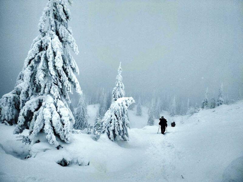 Зимове сходження на Піп Іван
