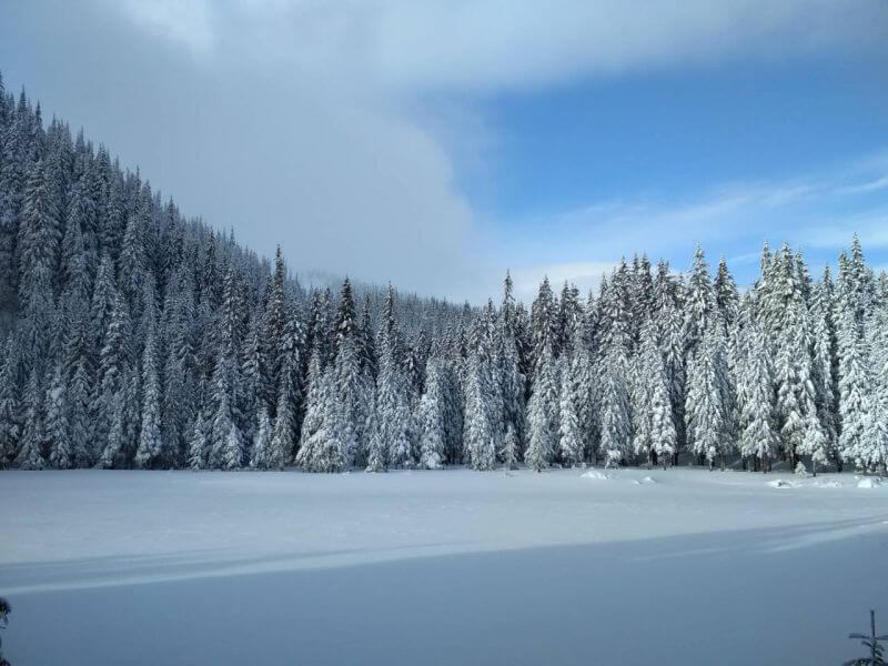 Озера Марічейка взимку