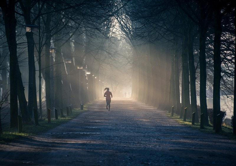 Біг в парку