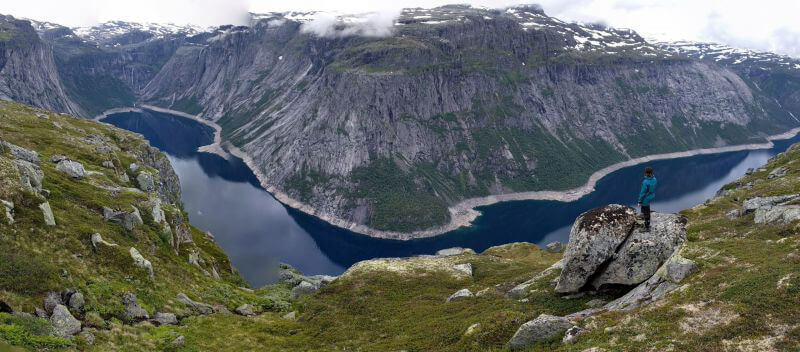 Бесконечные фьорды Норвегии