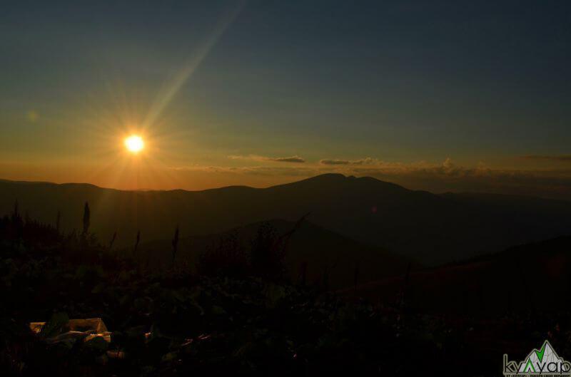 чарівний схід сонця