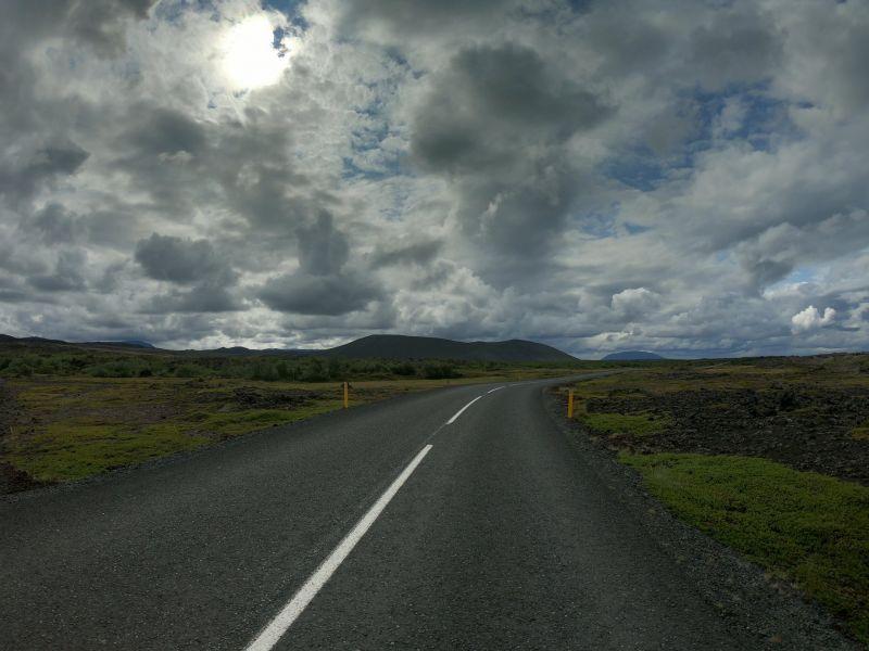 Дорога в Ісландії