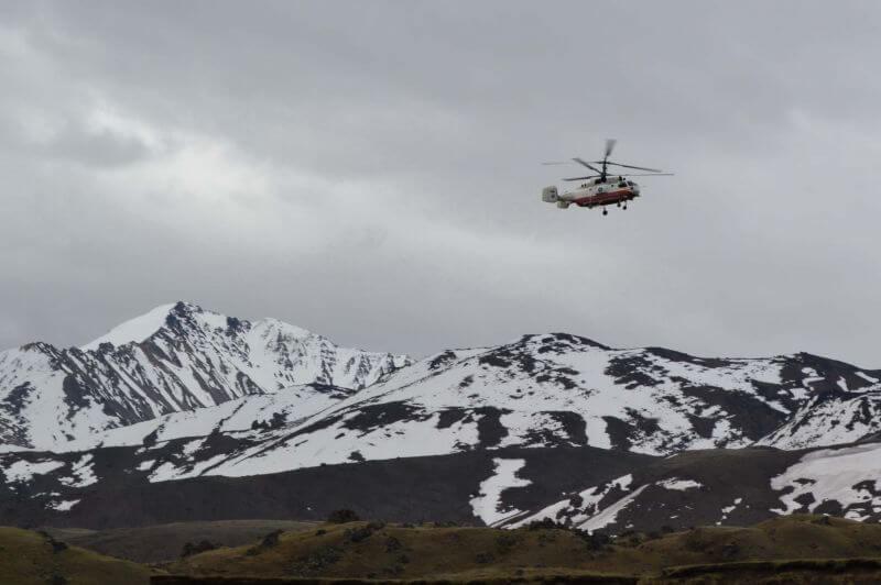 Спасработы по Эльбрусом