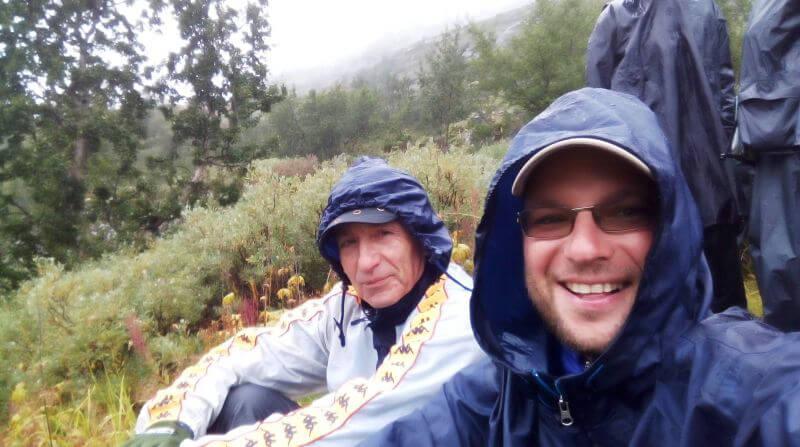 Поход с отцом по Норвегии