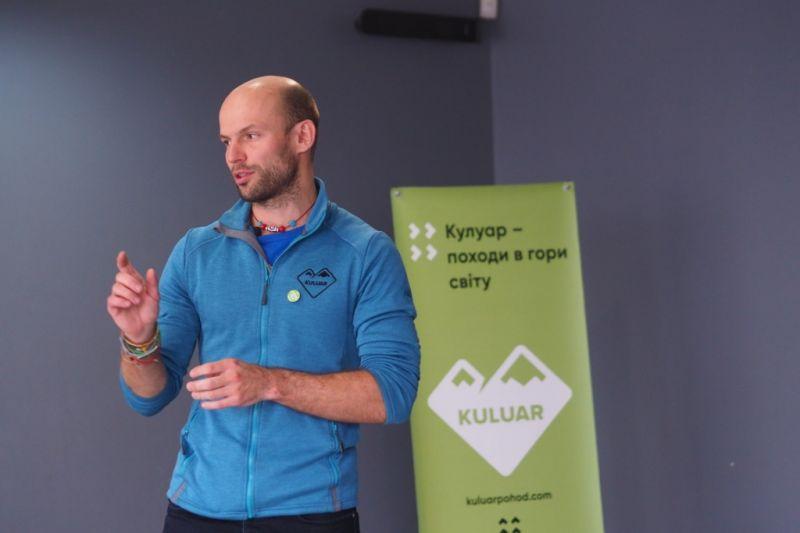 Выступление руководителя клуба Тараса Позднего