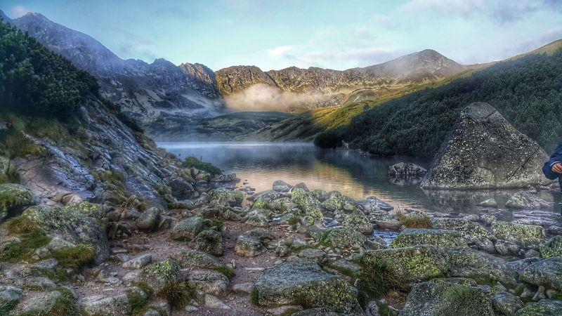 Горные озера в Татрах