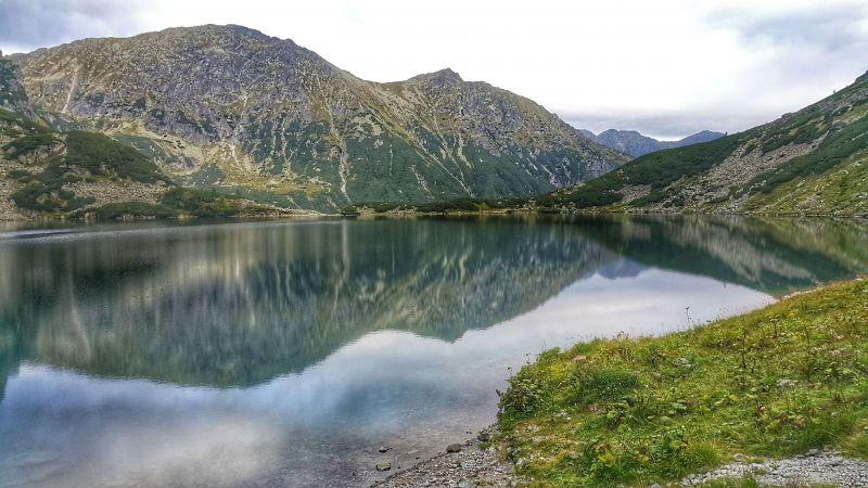 Озеро в польских Татрах