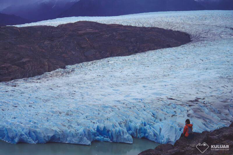 посидеть у ледника