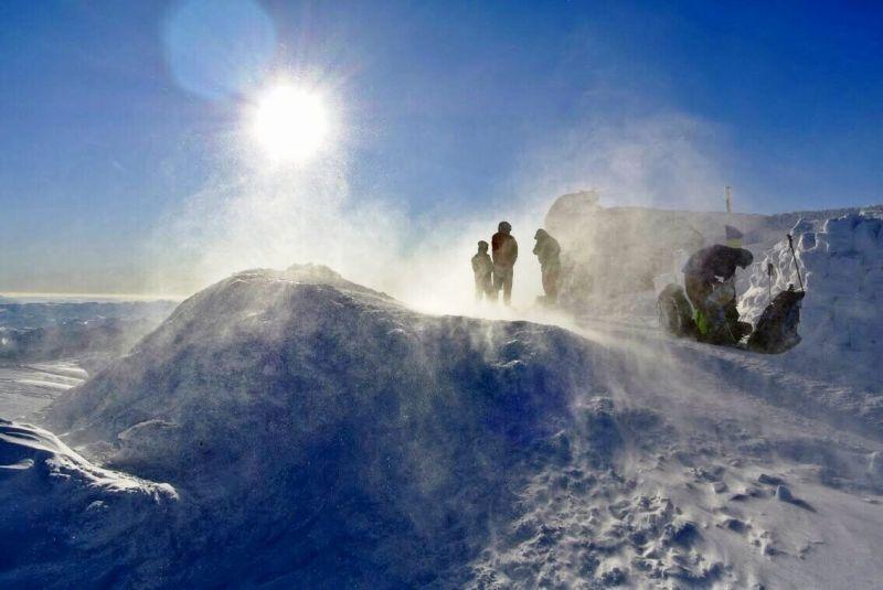 Табір біля обсерваторії Білий Слон