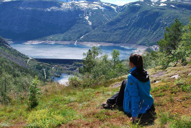 любуясь Норвегией