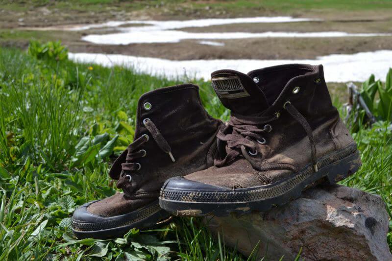 Промокшие ботинки