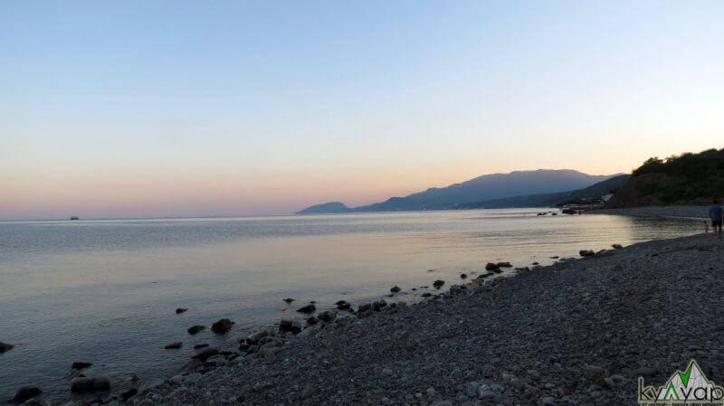 пляж Сатери