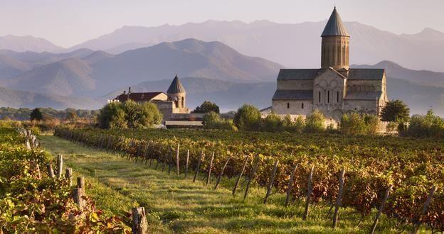 Праздник вина в Грузии