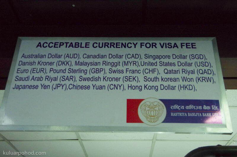 список валют