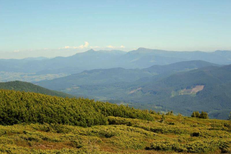 Панорама с горы Братковска
