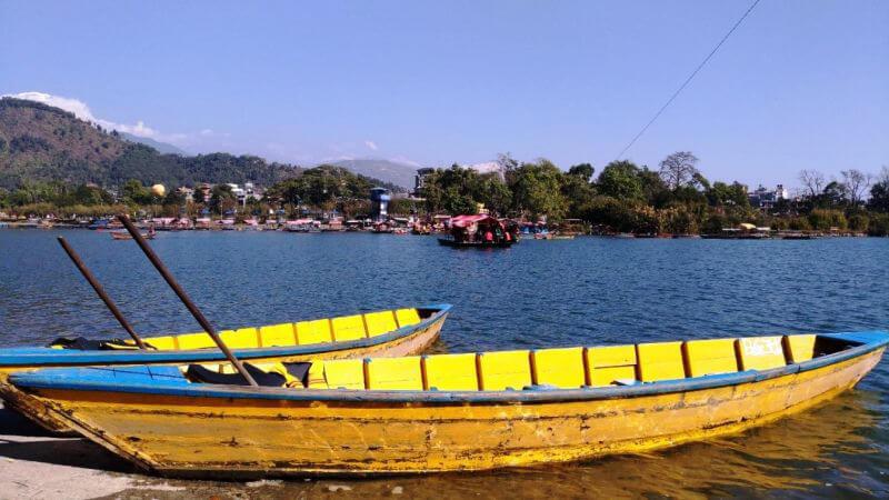 Лодочки на озере Фева