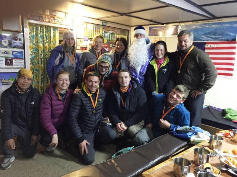 Поход в Непале на новый год