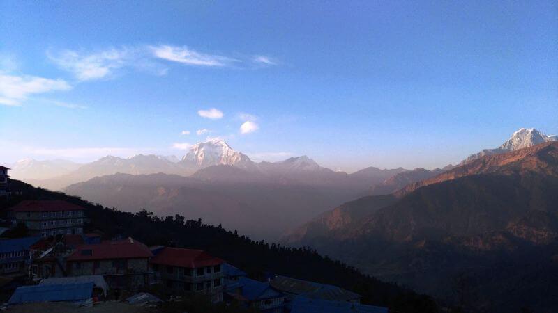 Вид на Дхалуагири