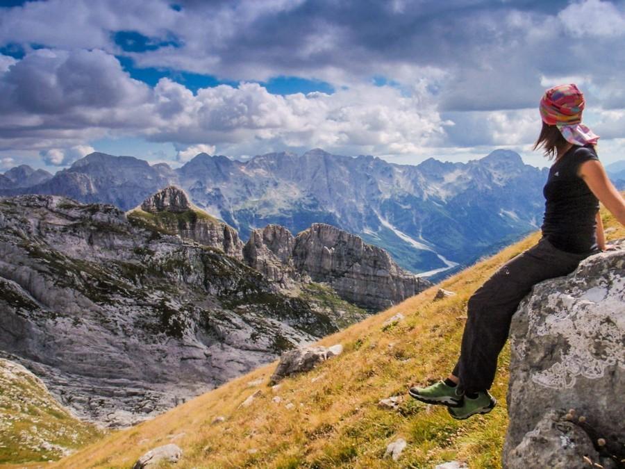 Поход по Черногории в палатках