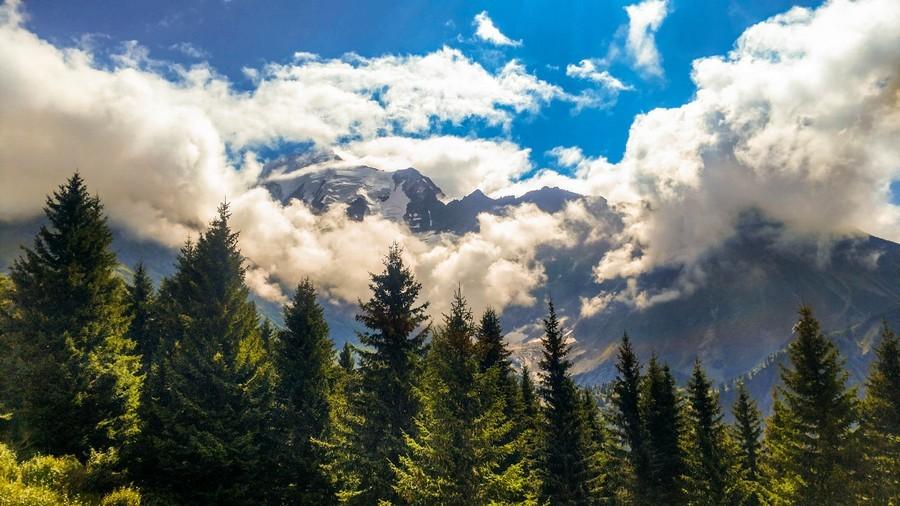 Альпы летом