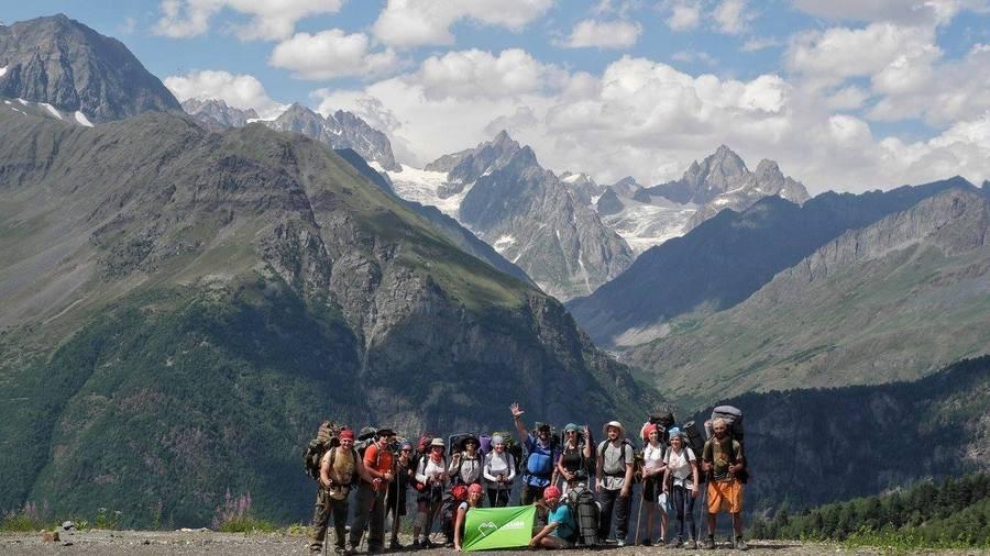 Группа Кулуар в Сванетии