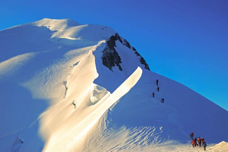 Восхождения в Альпах