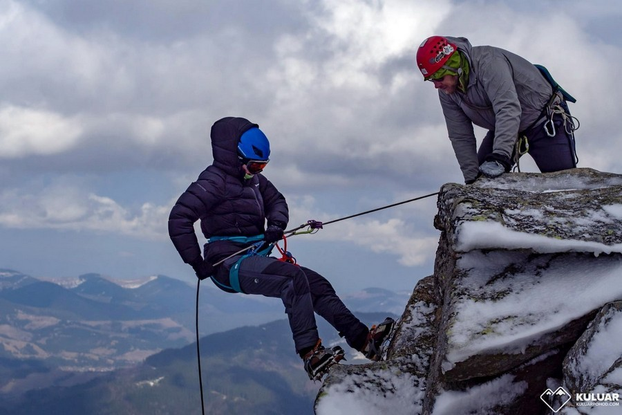 Школа альпинизма в Карпатах