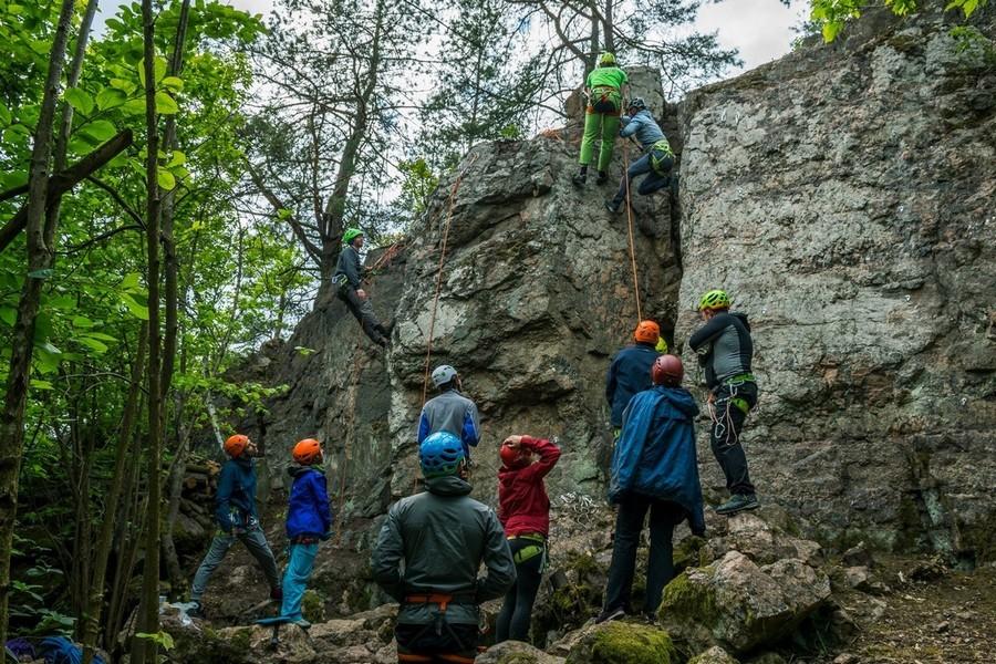 Начальный уровень скальной техники