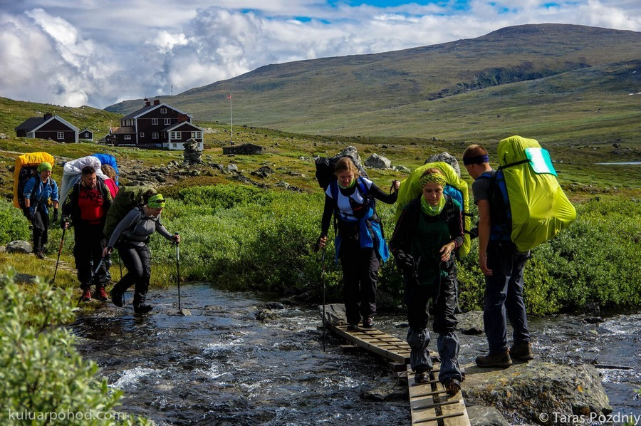 Походы по Норвегии в июне