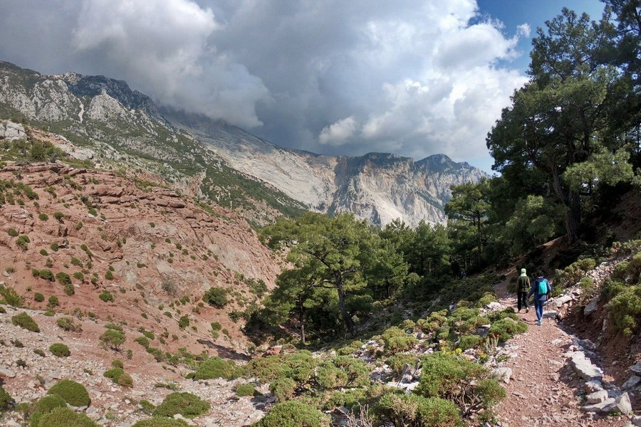 Поход в Турции без палаток и рюкзаков