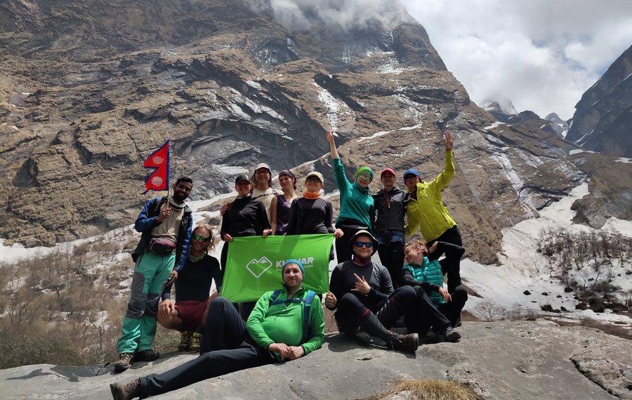 Группа Кулуар в Непале